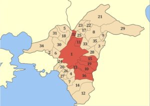 atina şehri semtleri haritası palaio faliro 27