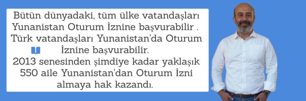 Türk Vatandaşları Oturum İznine Başvurabilir