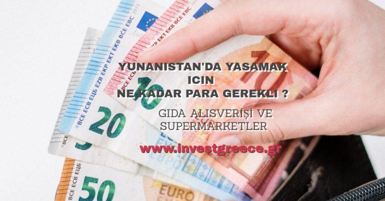 Yunanistanda Yaşamak İçin Ne Kadar Para Gerekli ?